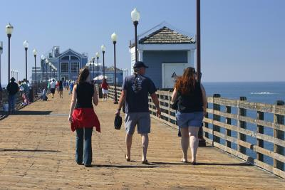Rubys at the End of the Pier
