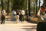 The Memorial Dedication-July 30, 2005