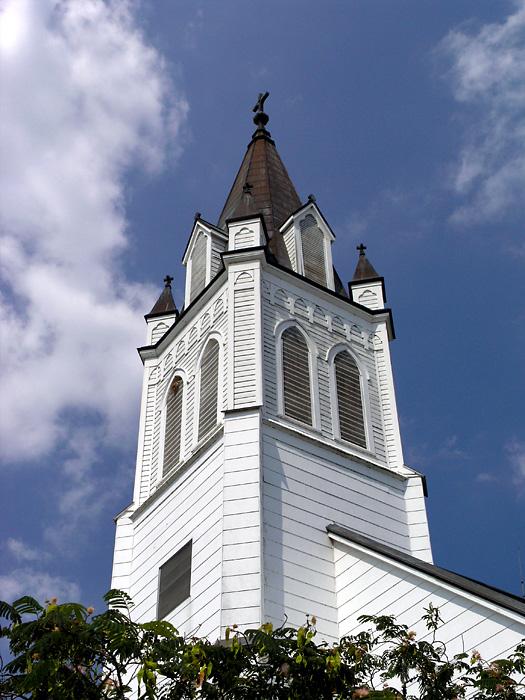 Ammannsville -- steeple