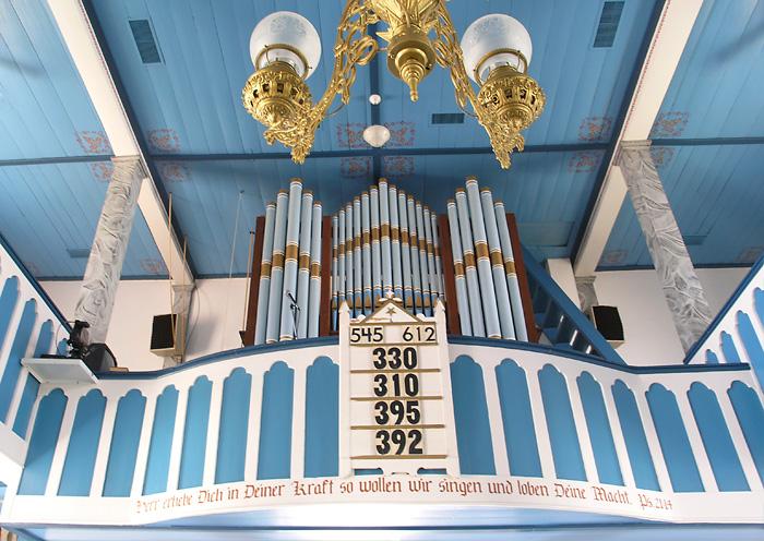 Serbin -- pipe organ