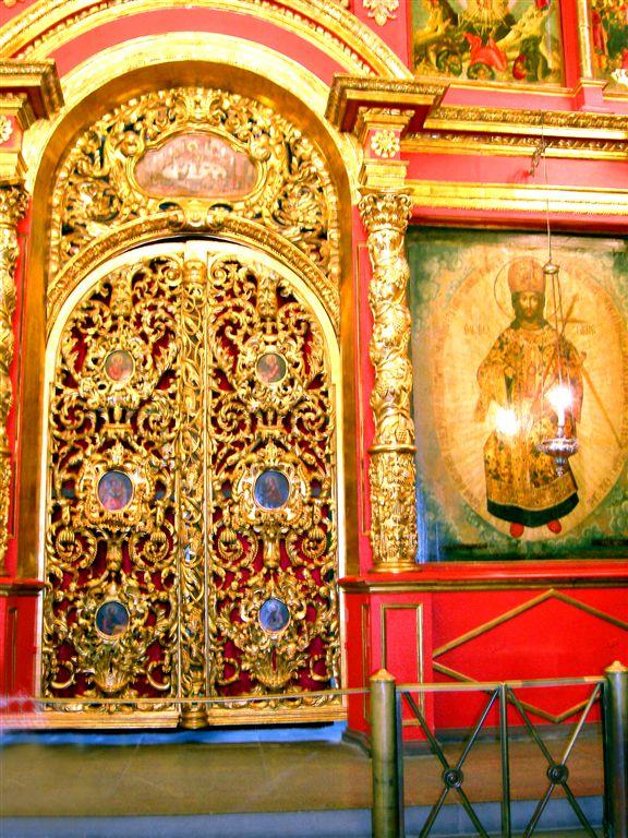 Door inside Archangel Michael Dome