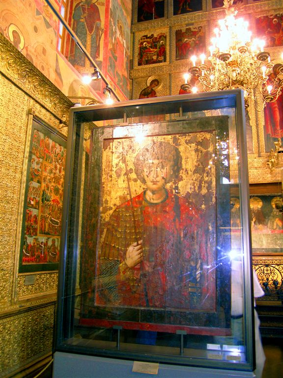 Icon in Archangel Michael Dome