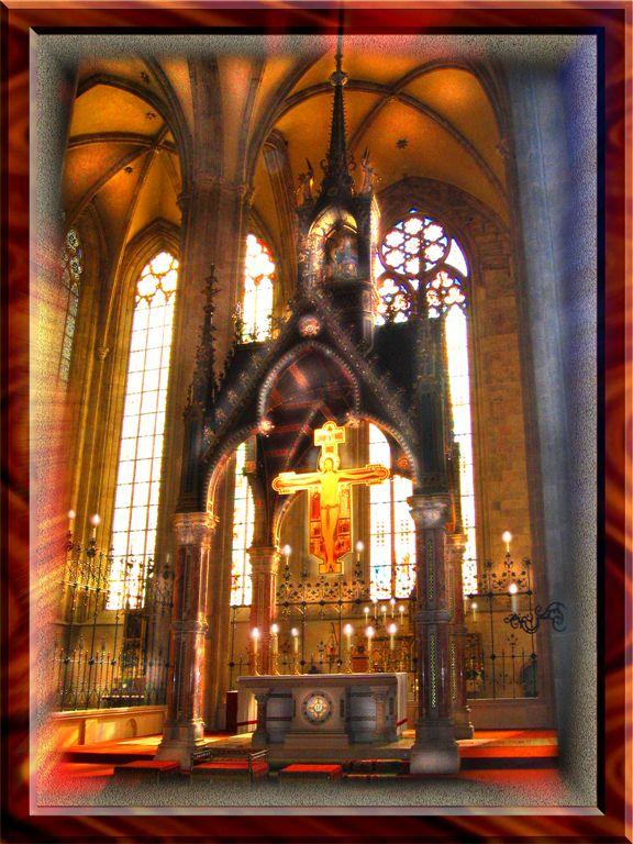 Jesas in St. Benedict Monastery, Austria