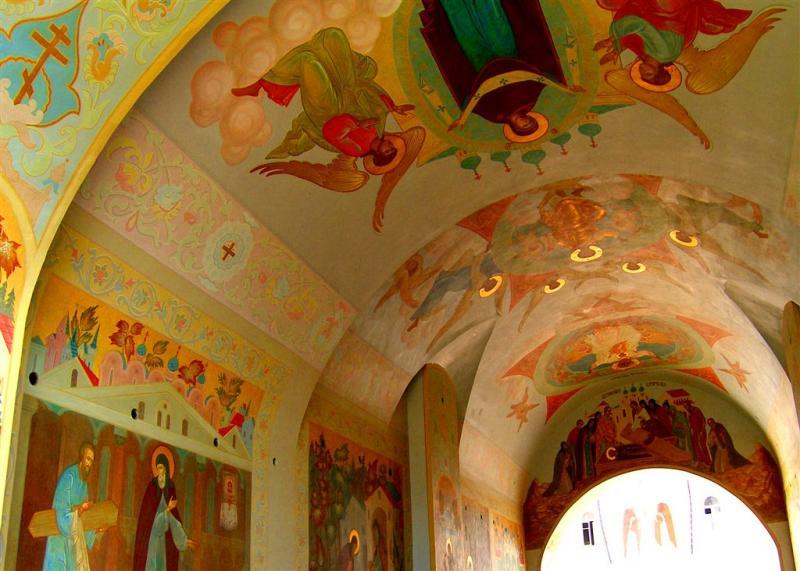 Ceilings in Sergiev Posad