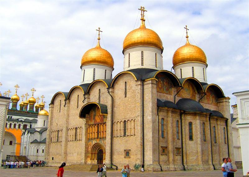 Dome of Sophia in Kremlin