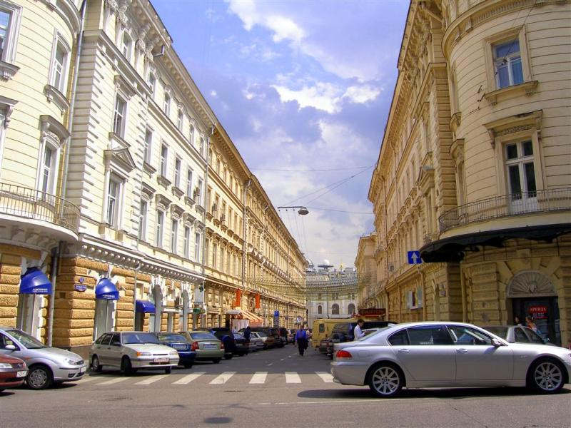 Streets in Moscow