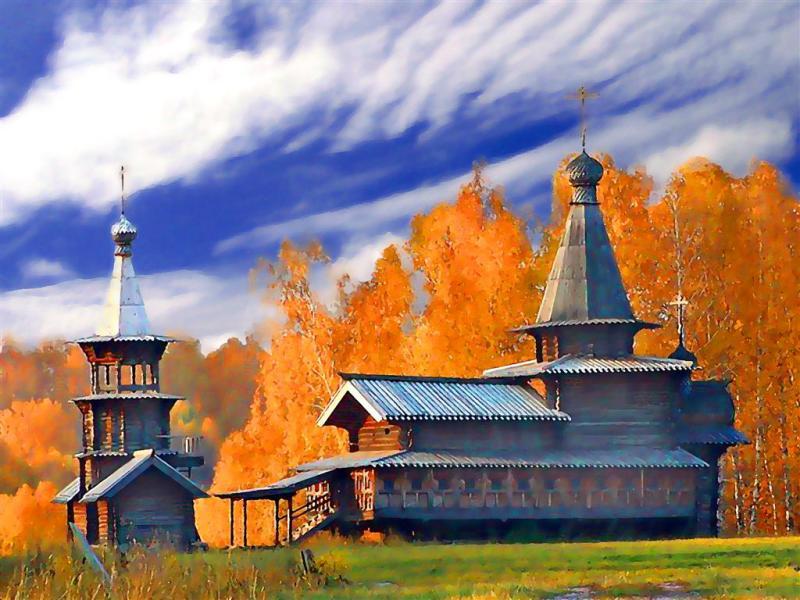 Wooden Russian Beauty