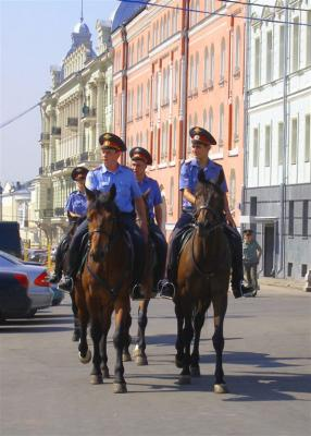 Moscow Horse Police