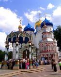 Cenral Square in Sergiev Posad