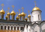 Golden Domes of Kremlin