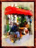 Cafe Advertisement,- Very Original, Baden, Austria