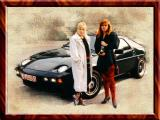 Mein Zwei Deutsch Hotties Mit Ihrem Porsche, On the Way To Party, Tegernsee, Germany