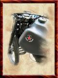 Soviet Harley-Davidson ??!! St.Moritz, Switzerland