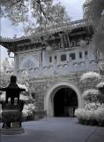 Po Lin Monastery in Infra Red