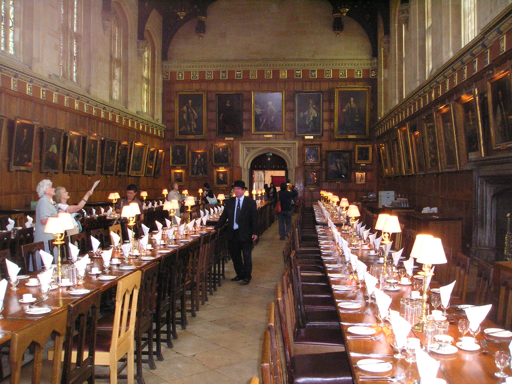Hall at Christ Church College