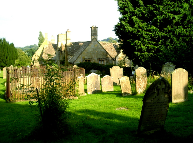 Country graveyard in Blockley