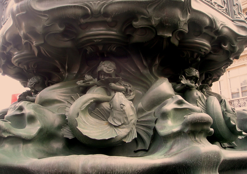 Piccadilly Circus detail