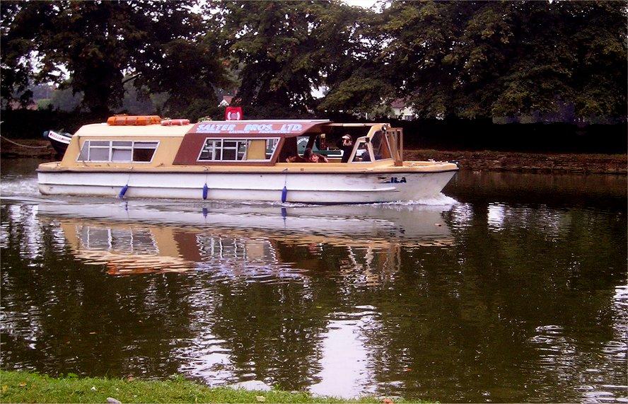 A Thames Houseboat