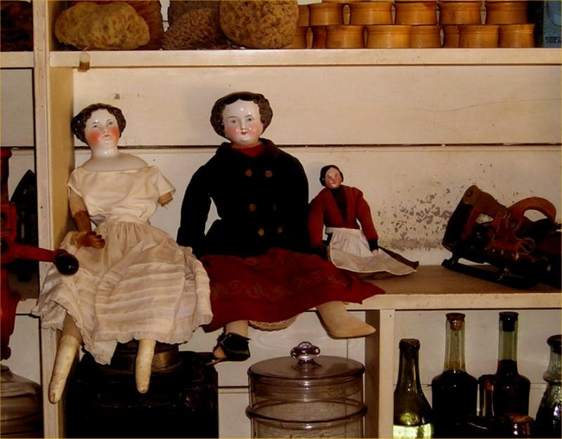 Dolls at Old Bethpage Village