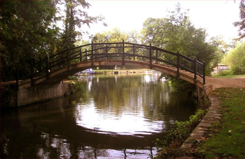Bridge on Alice Walk