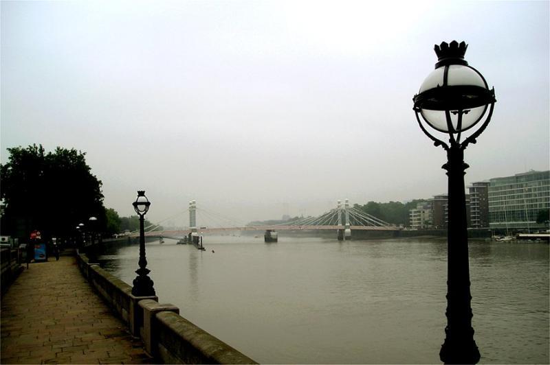 A misty morning in Chelsea