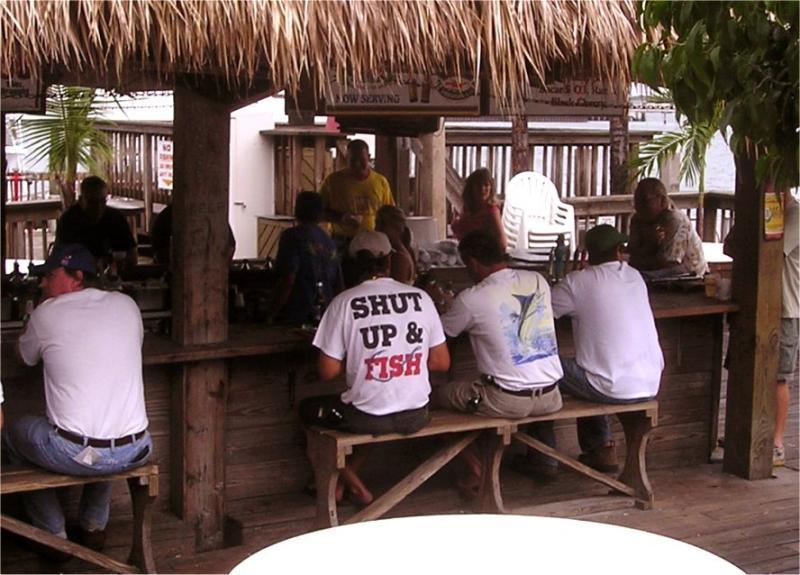 At a Port Canaveral Tiki bar