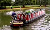 A riverboat on the Thames