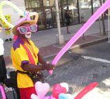 Woodside balloon seller