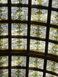 Ceiling of the restored Union Station