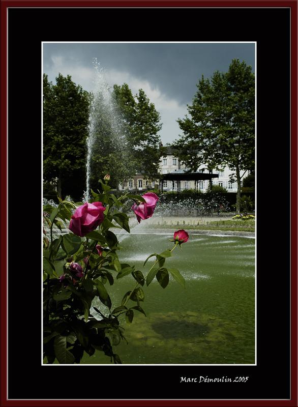 Lisieux, garden