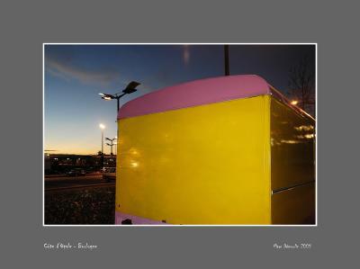 On Boulognes beach at dusk 3