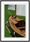 Enghien les Bains, wooden model