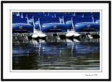 Enghien les Bains, blue armada