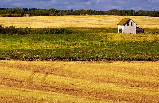 Lone House on the Prairie 20050917