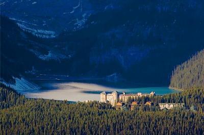Lake Louise From Afar 18043