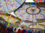 Racks Under Umbrellas 13982