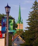 Elora Streetlight & Spire