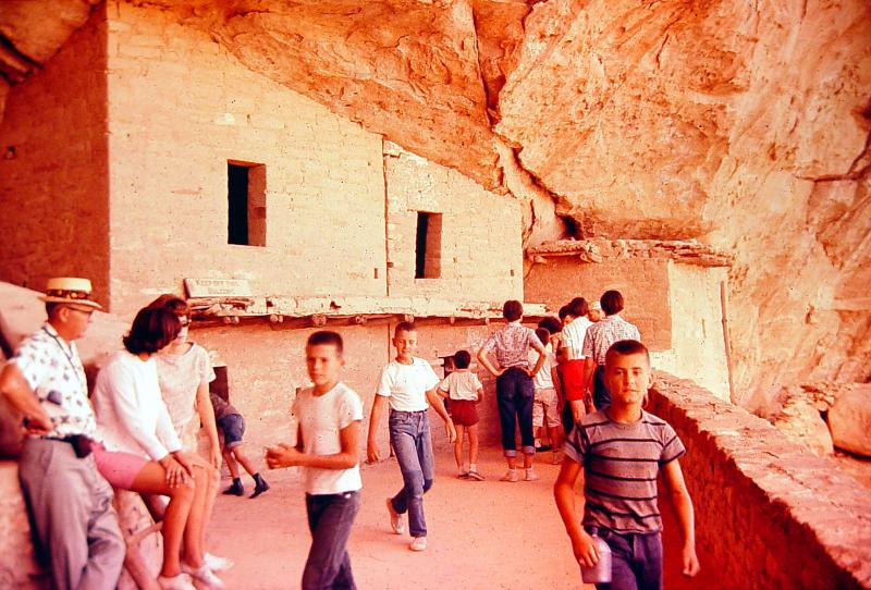 Mesa Verde National Park   early 1960s shot