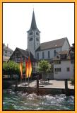 swiss village along the rhein