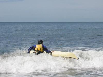 Alfons at Mystic Beach