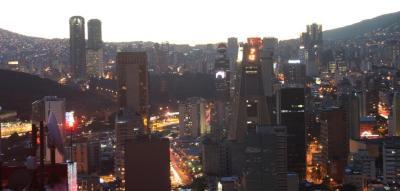 Vista del Oeste de Caracas, desde helipunto del Centro Empresarial Sabana Grande 2