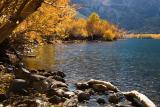 Convict Lake in autumn
