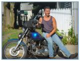 Marks' 1983 stock Harley