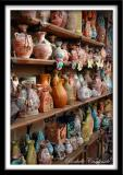Wall of Vases