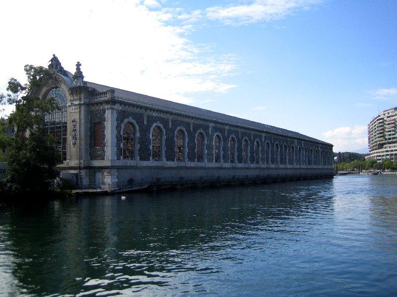 Art Museum on Rhone River