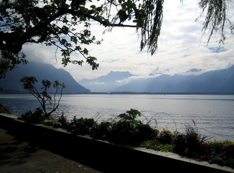 Lake Geneva and Alps