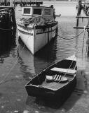 Champion, and Row boat, Newport, RI, 1962
