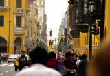 Bustling Lima