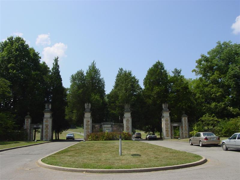Percy Warner Park Gates
