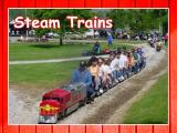 Lots of trains to ride